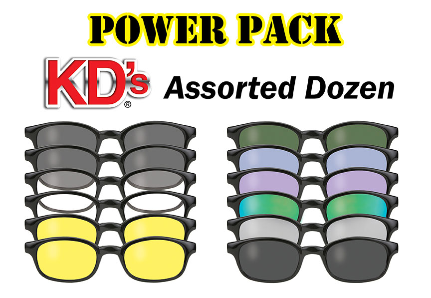 12 Pair KD's Power Pack 1001