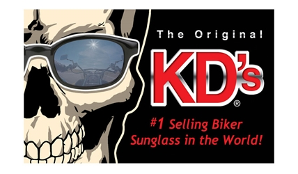 KD Skull Window Cling