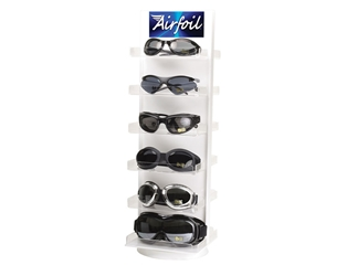 Airfoil Goggle Counter Display 412