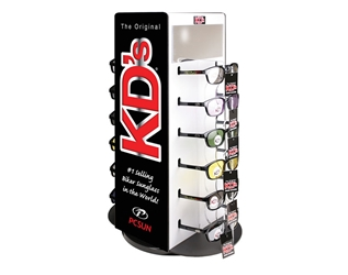 KD 12 Piece Rotating Counter Display 505