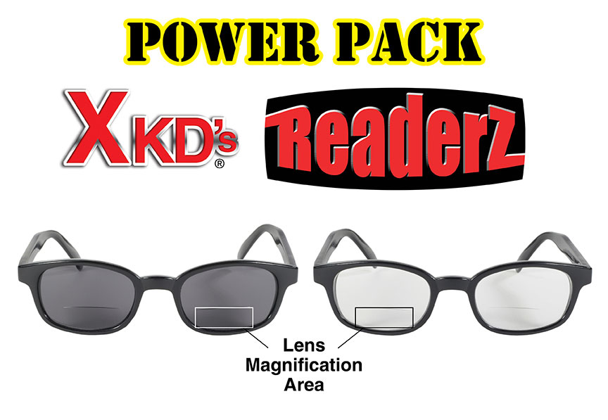 X-KD's Readerz Power Pack