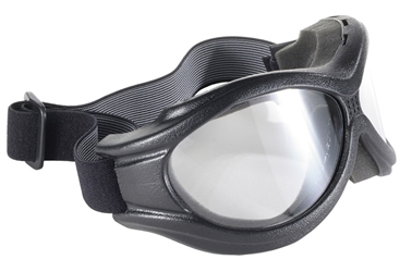 The Beast - Clear/Black - Can Be Worn Over Some Eyeglasses! 4595