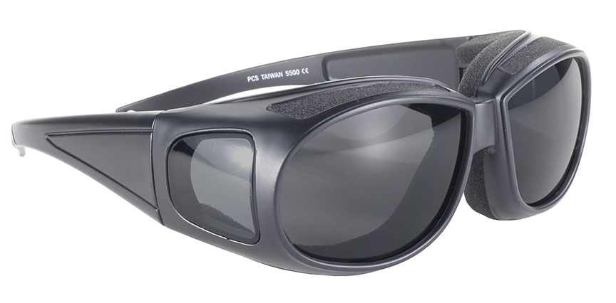 Defender - Smoke/Black - Can Be Worn Over Eyeglasses! 5500