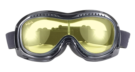 Airfoil 9312 - YELLOW LENS FIT OVER GOGGLE fits over glasses! Fit over goggle, best fit over goggle, Airfoil Fit Over Goggle, motorcycle goggles, Fits over prescription glasses