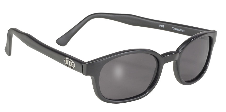 KDs - 20010 Matte/Smoke kds, biker sunglass, matte frame, satin frame, matte motorcycle sunglasses, satin black frame, cheap sunglasses, sons of anarchy