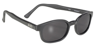 KD's - 21120 Matte Black/Dark Grey Lens