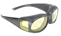 Defender -Yellow/Black - Can Be Worn Over Eyeglasses!