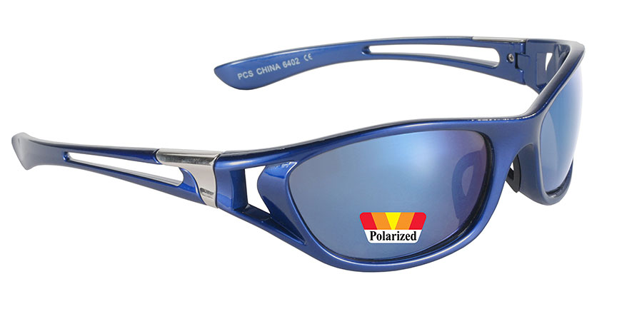 Blue Ice - Polarized Blue Mirror/Blue 6402