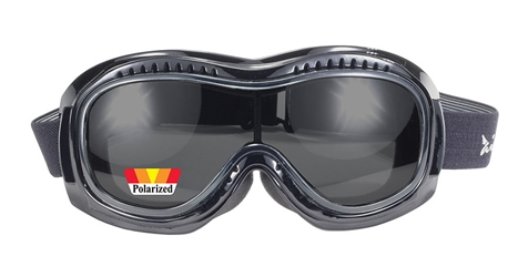 Airfoil 9319 - Polarized Smoke - Can Be Worn Over Eyeglasses! Fit Over Goggles, Fit Over Prescription Glasses, goggle fits over glasses, Clear Lens Fit Over Goggles,